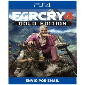 Far Cry 4 Gold Edition - Ps4 Digital