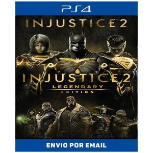 Injustice 2 Legendary edition - Ps4 Digital