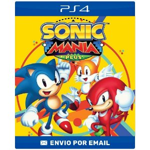 Sonic Mania - Ps4 e Ps5 Digital
