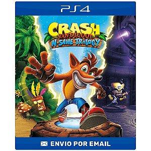 Crash bandicoot N. Sane trilogy - Ps4 e Ps5 Digital