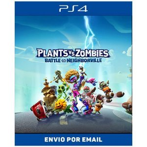 Plants Vs. Zombies Battle Neighborville - Ps4 Digital