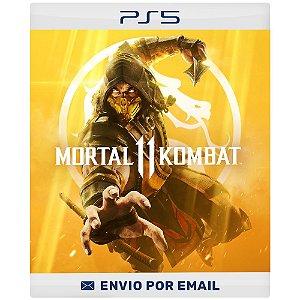 Mortal Kombat 11 - Ps4 e Ps5 Digital