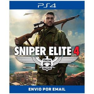 Sniper elite 4 - Ps4 Digital