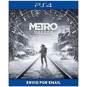 Metro exodus - Ps4 Digital
