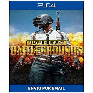 PUBG PLAYERUNKNOWNS BATTLEGROUNDS PS4 - Ps4 Digital