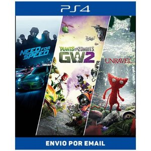 Pacote Familiar EA - Ps4 Digital
