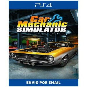 Car Merchanic Simulator - Ps4 Digital