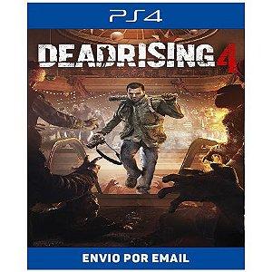 Dead Rising 4 - Ps4 e Ps5 Digital