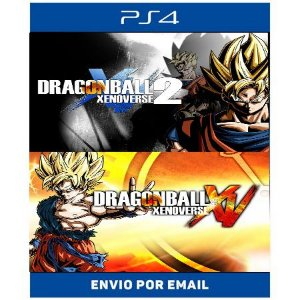 DRAGON BALL XENOVERSE Super Bundle - Ps4 Digital
