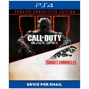 Call of Duty Bo3 Zombies Chronicles - Ps4 Digital