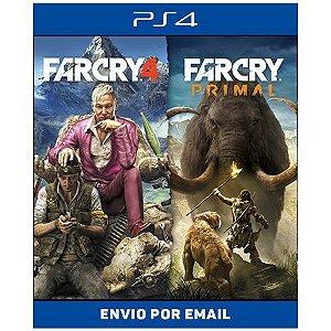 Far cry 4 + Primal - Ps4 e Ps5 Digital
