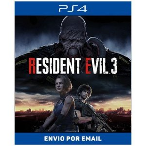 Resident evil 3 remake - Ps4 Digital