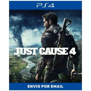 JUST CAUSE 4  - PS4 DIGITAL