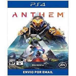 Anthem - Ps4 e Ps5 Digital
