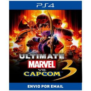 Ultimate Marvel vs.Capcom 3 - Ps4 Digital