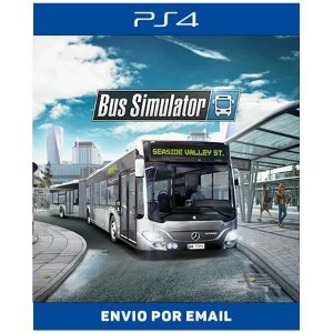 Bus Simulator - Ps4 Digital