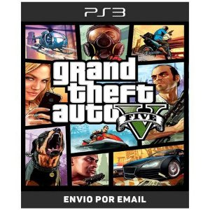 Grand Theft Auto v Gta 5 - Ps3 Digital
