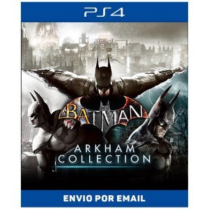 Batman arkham Collection - Ps4 Digital