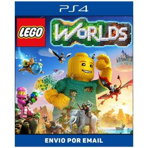 Lego worlds - Ps4 Digital