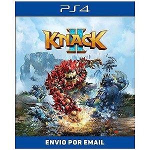 KNACK  2 - PS4 E PS5 DIGITAL