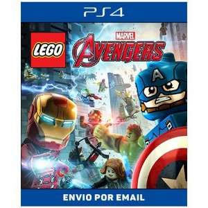 Lego marvel vingadores - Ps4 Digital