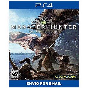 Monster Hunter World - Ps4 Digital