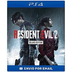 Resident evil 2 Remake deluxe - Ps4 Digital