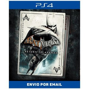Batman Return to Arkham - Ps4 Digital