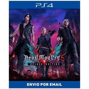 Devil may cry 5 deluxe - Ps4 Digital