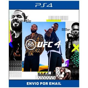 UFC 4 Standard Edition - Ps4 Digital