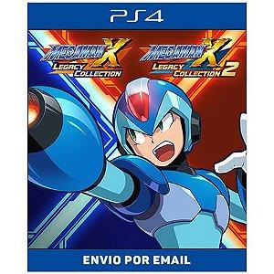 Mega man x legacy colletion 1 e 2 - Ps4 Digital