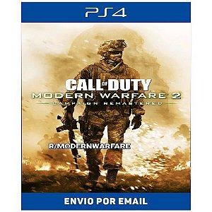 Call of duty Modern Warfare 2 remasterizado - Ps4 e Ps5 Digital