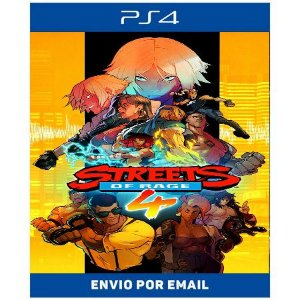 Streets of rage 4 - Ps4 Digital
