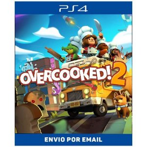 Overcooked 2 - Ps4 Digital