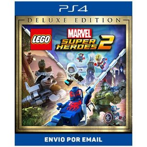 Lego Marvel super heroes 2 Deluxe Edition - Ps4 Digital