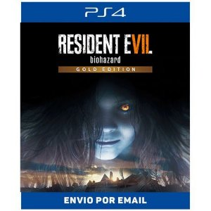 Resident evil 7 Gold Edition - Ps4 Digital