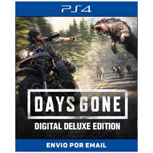 Days gone Deluxe Edition - Ps4 e Ps5 Digital