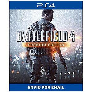Battlefield 4 Premium - Ps4 e Ps5 Digital
