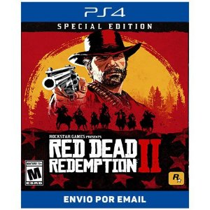 Red dead Redemption 2 ediçao especial - Ps4 Digital