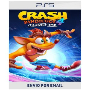 Crash Bandicoot 4: It's About Time - Ps4 e Ps5 Digital