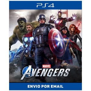 Marvel's os Vingadores - Ps4 Digital
