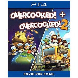 Overcooked + Overcooked 2 - Ps4 Digital