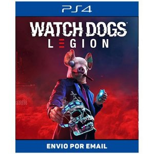 Watch Dogs Legion - Ps4 e Ps5 Digital