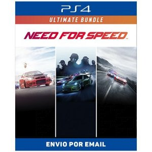 Need for Speed Conjunto Ultimate - Ps4 Digital