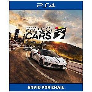 Project Cars 3 - Ps4 e Ps5 Digital