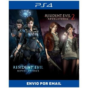Resident Evil Revelations 1 & 2 Bundle - PS4 DIGITAL