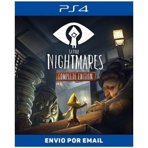 Little Nightmares Complete Edition - Ps4 digital