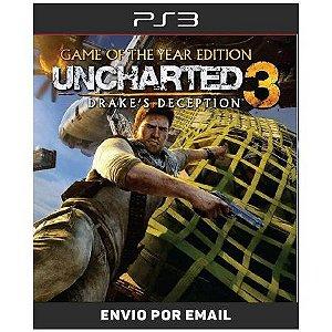 Uncharted 3 - PS3 DIGITAL