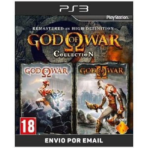 God of war 1 e 2 HD - Ps3  Digital