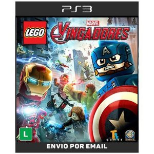 Lego Marvel Vingadores Avengers - Ps3 Digital